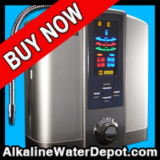 Athena 5-plate Water Ionizer with Additional Fluoride Protection